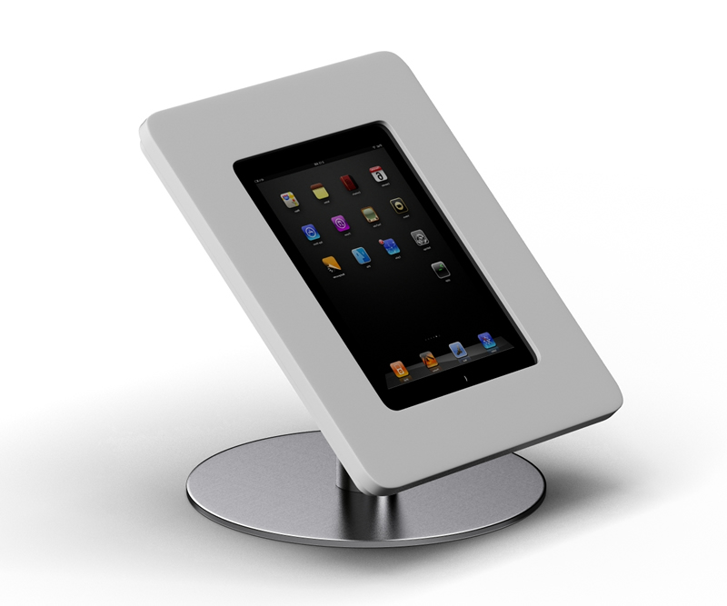 Apple IPad Enclosure Counter Stand Secure Stands